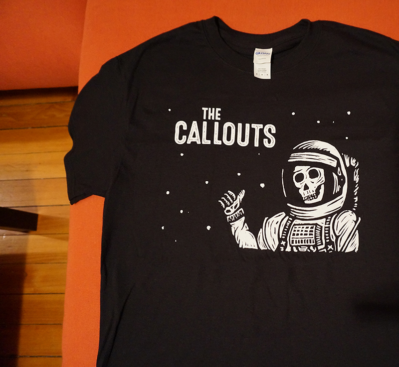 The Callouts - astronaut shirt